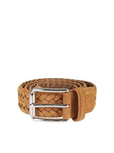 Tod's - Woven leather belt
