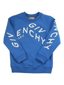 Givenchy - Refracted logo sweatshirt in blue