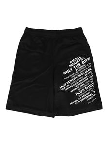 Diesel - Pfrakle shorts in black