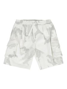 Dolce & Gabbana Jr - Camouflage bermuda shorts in grey