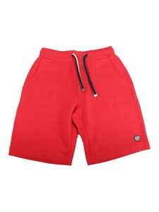Emporio Armani - Jersey shorts in red