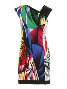 Versace - Abstract art style dress