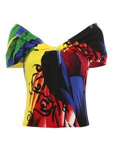 Versace - Abstract art style top