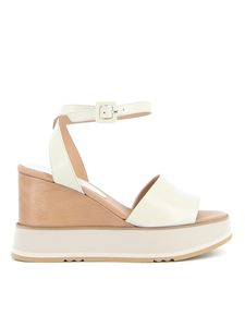 Paloma Barceló - Lory sandals in cream color