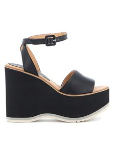 Paloma Barceló - Maues wedge sandals in black