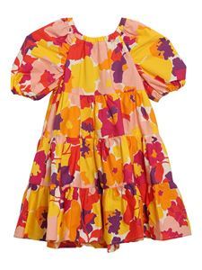 Il Gufo - Floral patterned dress in multicolor
