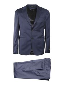 Z Zegna - Wool single-breasted suit