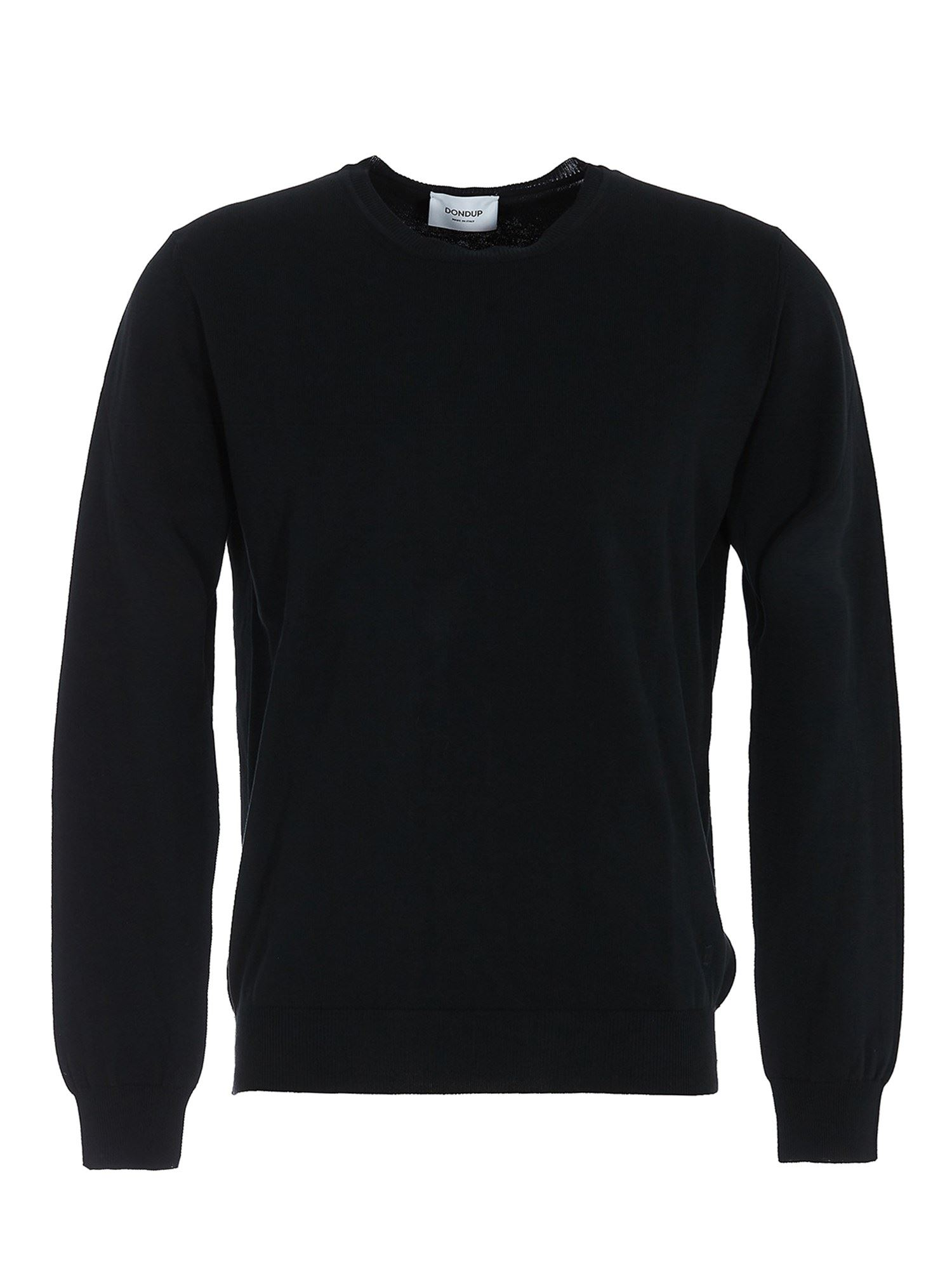Dondup Cottons COTTON SWEATER IN BLUE