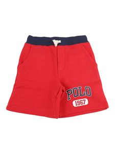 POLO Ralph Lauren - Jersey shorts in red