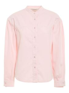 Philosophy di Lorenzo Serafini - Denim shirt in pink