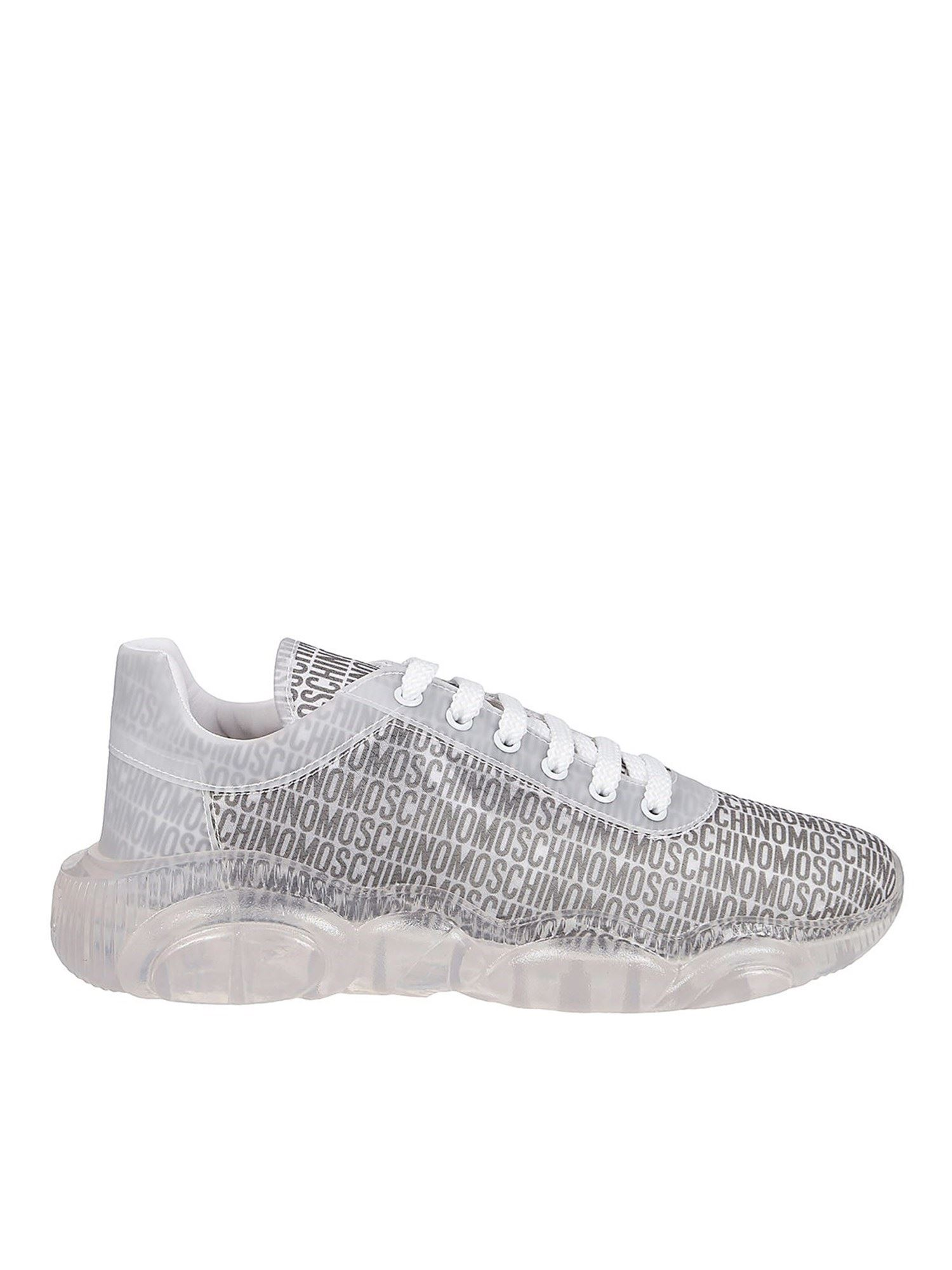 Moschino ORSO35 SNEAKERS IN GREY