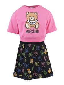 Moschino Kids - T-shirt and skirt suit