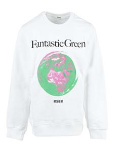 MSGM Kids - Future sweatshirt in white