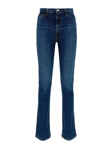 J Brand - Faded denim jeans in blue