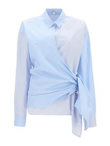 Loewe - Knot detailed shirt in light blue