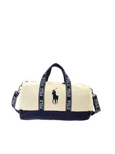 POLO Ralph Lauren - Travel bag in beige and blue