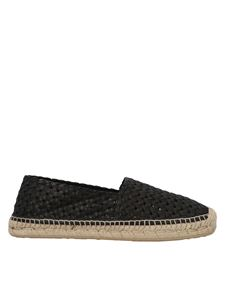 Dolce & Gabbana - Woven espadrilles in black