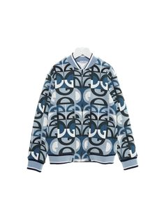 Dolce & Gabbana Jr - DG printed sweatshirt in blue