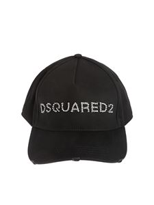 Dsquared2 - Jewel Dsquared2 hat in black