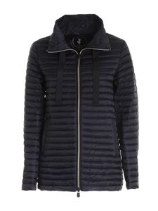 Save the duck - High collar puffer jacket in black