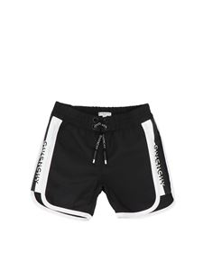 Givenchy - Givenchy Kids swim boxer in black