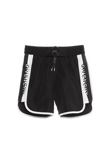 Givenchy - Logo swim trunks in black
