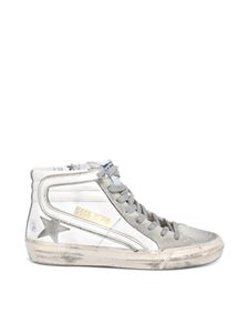 Golden Goose - Slide High Top sneakers in white