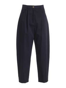 Vivetta - Carrot fit pants in navy blue