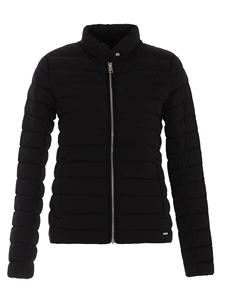 Woolrich - Quilted padded jacket in black