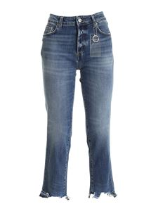 Department 5 - Carma destroyed effect jeans in blue