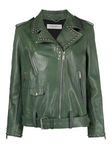 Golden Goose - Love is a golden thing jacket in green