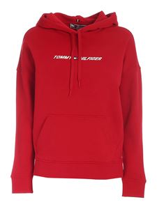 Tommy Hilfiger - Relaxed Graphic sweatshirt in red