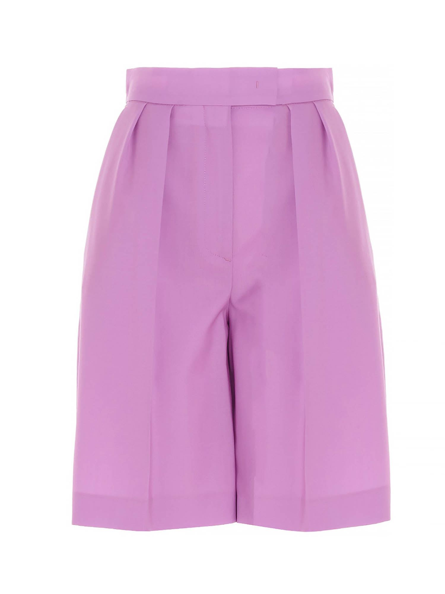 Msgm Shorts TAILORED BERMUDA SHORTS IN PINK