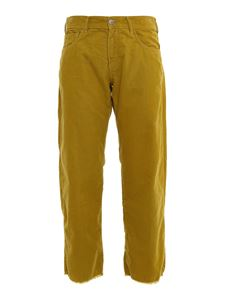 massimo alba - Alosa pants in ocher color