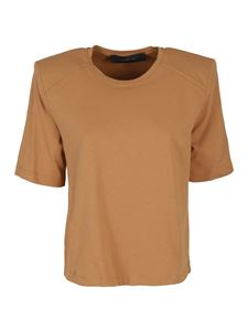 Federica Tosi - Cotton T-shirt in Biscotto color
