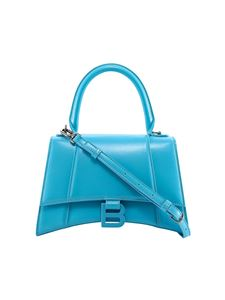 Balenciaga - Hourglass handbag in light blue