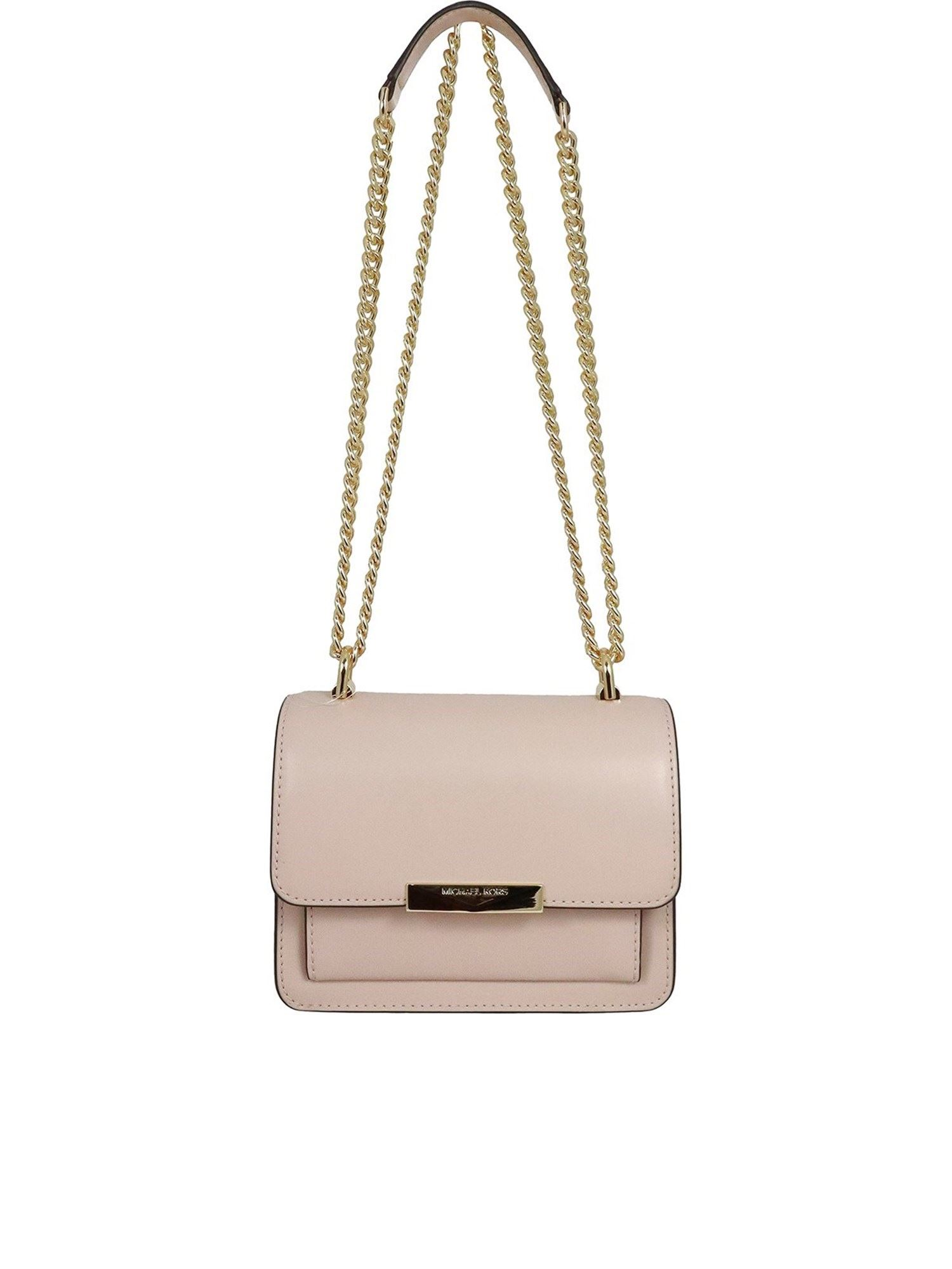 Michael Kors Leathers JADE EXTRA SMALL BAG IN LIGHT PINK