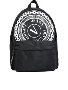 Versace Jeans Couture - Logo backpack in black