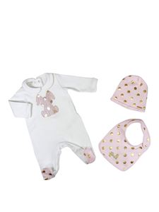 LIU JO Junior - Baby girl set in white and pink