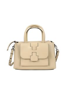 Hogan - Large Basic bowling bag in beige