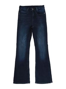 LIU JO Junior - Flared five pocket  jeans in blue