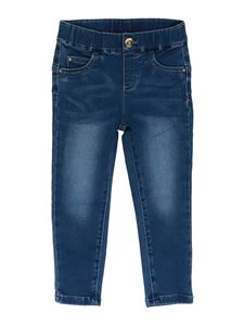 LIU JO Junior - Stretch high-waist jeans in blue