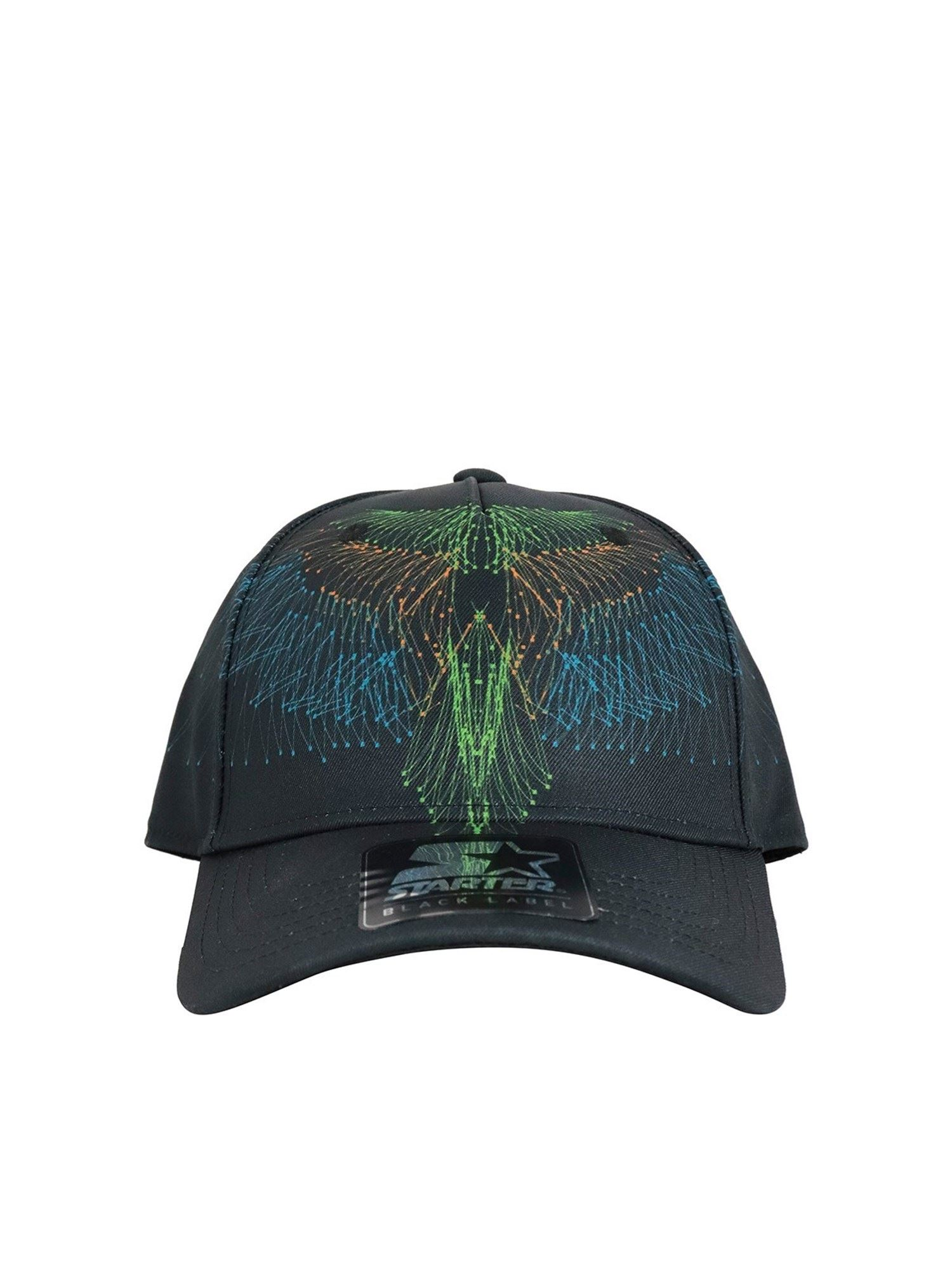Marcelo Burlon County Of Milan WINGS BEZIER BASEBALL CAP IN BLACK