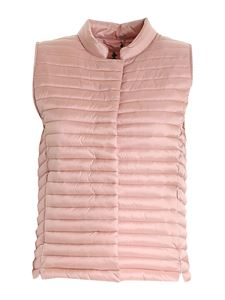 Save the duck - Aria sleeveless puffer jacket in pink