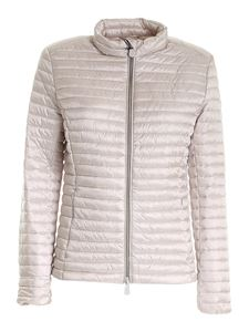 Save the duck - Quilted puffer jacket in pearl grey