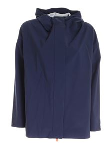 Save the duck - Logo jacket in blue