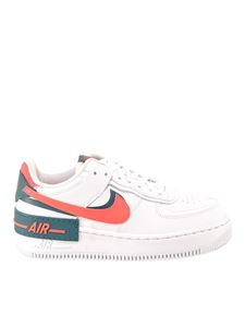 Nike - Air Force 1 Shadow sneakers in white