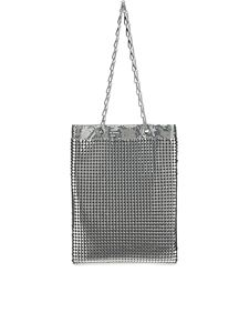 Paco Rabanne - Pixel bag in silver color