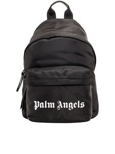 Palm Angels - Zaino con logo nero