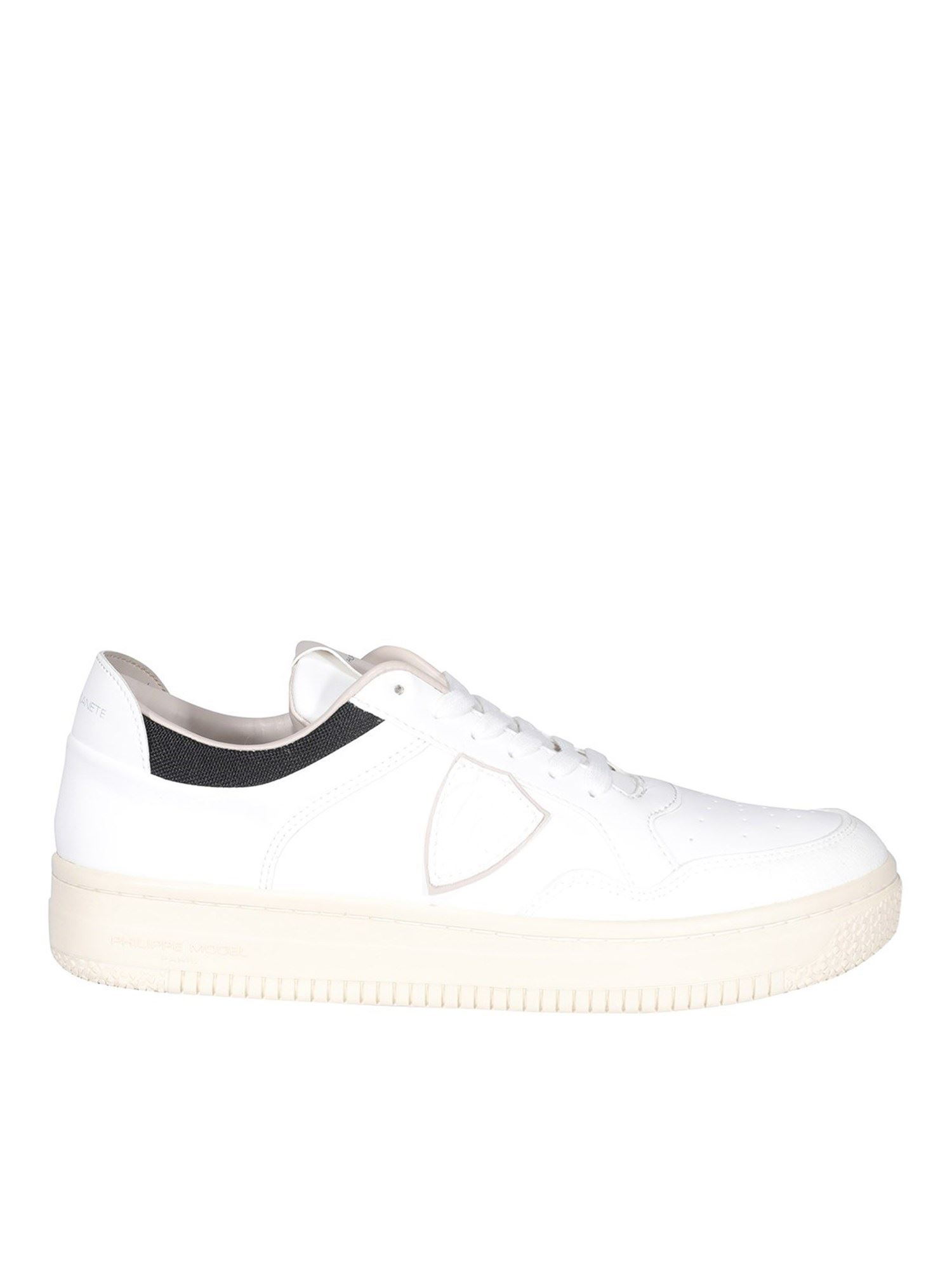 Philippe Model Sneakers LYON BLE ECO-FRIENDLY SNEAKERS IN WHITE